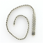 CNK16 Tabra Necklace Connector Chain Silver Necklace