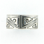 Tabra Sterling Embossed Ring