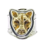 Tabra Bronze Jaguar Ring