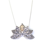 Zealandia Designs Lotus Flower Necklace