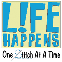 Life Happens One Stitch