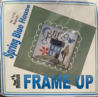 Spring Blue House Frame Up Kit