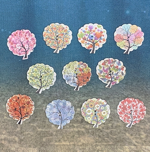 Assorted Tree Buttons