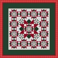 Miniature Quilts: Christmas Star