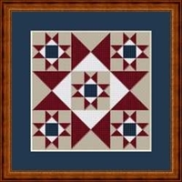 Miniature Quilts: Patriot Star