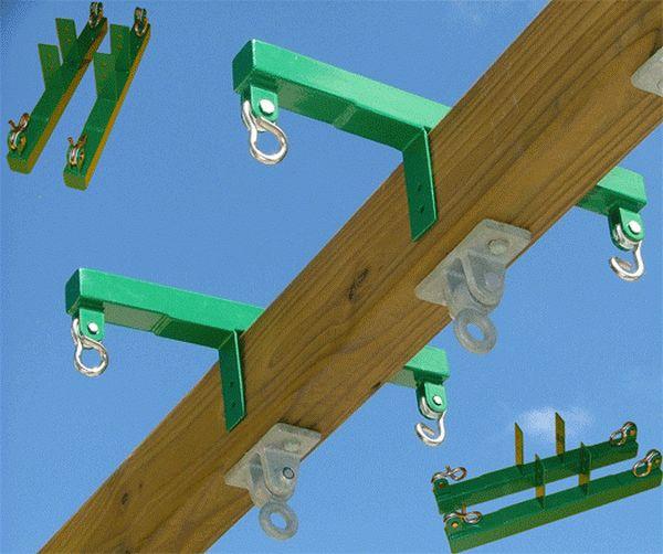 Swing Glider Bracket Horse Block