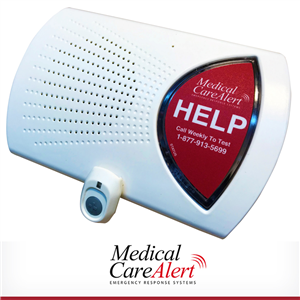 HOME-LTE Medical alert system with fall detection alert button, 24/7 EMT-certified monitoring with annual billing.  Hospital-grade.