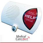 HOME-LTE Medical alert system with medical alert button, 24/7 EMT-certified monitoring with annual billing.  Hospital-grade.