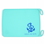 CB EAT By Chewbeads Baby 100% Silicone Roll-up Placemat. No bpa, phthalates, or lead. Rolls up easily for travel.