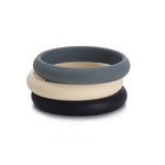 Skinny Charles Bangle - Black