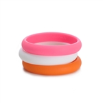 Skinny Charles Bangle - Creamsicle