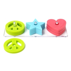 Chewbeads 100% Silicone Stack and Play