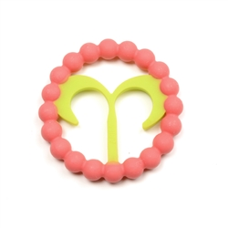 Chewbeads Baby Zodies Teether Refill - Aries Pink (Pack of 2)