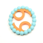 Chewbeads Baby Zodies Teether Refill - Cancer Turquoise (Pack of 2)