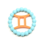Chewbeads Baby Zodies Teether Refill - Gemini Turquoise (Pack of 2)