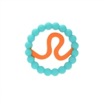 Chewbeads Baby Zodies Teether Refill - Leo Turquoise (Pack of 2)