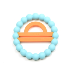 Chewbeads Baby Zodies Teether Refill - Libra Turquoise (Pack of 2)