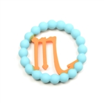 Chewbeads Baby Zodies Teether Refill - Scorpio Turquoise (Pack of 2)