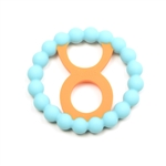 Chewbeads Baby Zodies Teether Refill - Taurus Turquoise (Pack of 2)