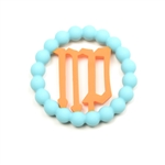 Chewbeads Baby Zodies Teether Refill - Virgo Turquoise (Pack of 2)