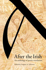 After the Irish An Anthology of Poetic Translation