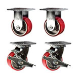 4 Inch Toolbox Casters