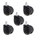 nylon replacement chair casters