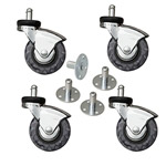 Heavy Duty Floor Safe Amplifier Casters