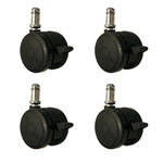 softech hardwood floor safe casters with brake