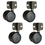 side mount softech hardwood floor safe casters