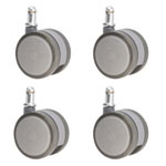 gray softech hardwood floor safe casters