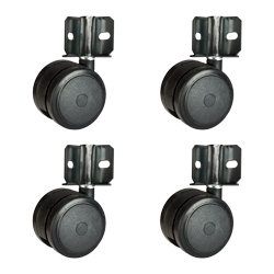 inside corner mount softech hardwood floor safe casters