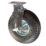 "10"" Swivel  Pneumatic Cart Caster with Brake"