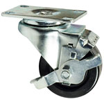 "3"" Swivel Caster with Phenolic Wheel with Brake"
