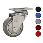 "3-1/2"" Swivel Caster with Polyurethane Tread"