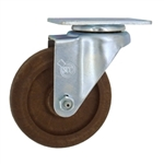 "4"" High Temperature Swivel Caster Glass Filled Nylon Wheel"