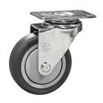"5"" Swivel Caster with Thermoplastic Rubber Tread"