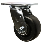 4 Inch Swivel Caster with Polyolefin Wheel and Ball Bearings