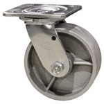 4 Inch Swivel Caster with Semi Steel Wheel and Ball Bearings