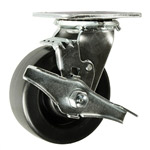 5 Inch Swivel Caster with Polyolefin Wheel