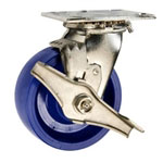 5 Inch Swivel Caster - Solid Polyurethane Wheel