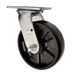 Swivel Caster with Glass Filled Nylon Wheel