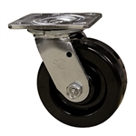 6 Inch Swivel Caster with Phenolic Wheel and Ball Bearings