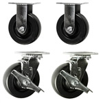 6 Inch Polyolefin Wheel Toolbox Casters