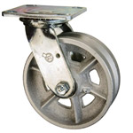 6 Inch Swivel Caster with V Groove Wheel