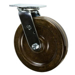 8 Inch Swivel Caster with Phenolic Wheel