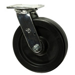8 Inch Swivel Caster with Polyolefin Wheel