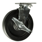 8 Inch Polyolefin Wheel Swivel Caster and Brake