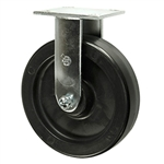 8 Inch Polyolefin Wheel Rigid Caster with Ball Bearings