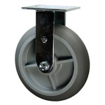 "8"" Rigid Soft Tread Bellman Cart Caster"